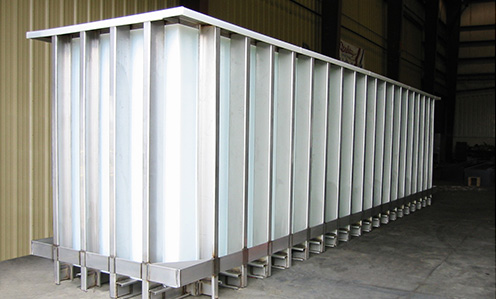 Process Tanks for anodizing, galvanizing, plating, etching, wire and strip processing, chemical containment