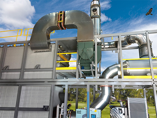 Tri-mer's Ceramic Catalyst Filter system is the world's premier dry technology for PM+ SO2+ NOx.